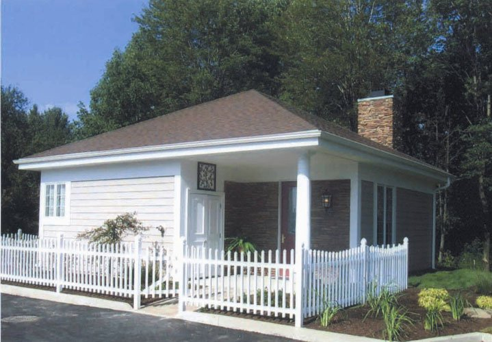 Getaway Cottage at The Bertram Inn & Conference Center in Aurora Ohio