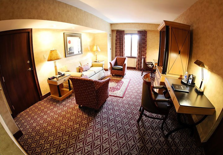 Parlor Suite at The Bertram Inn & Conference Center in Aurora Ohio
